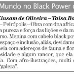 Clipping – O Mundo no black power de Tayó
